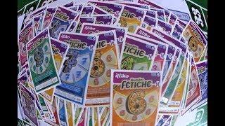 Gratter un carnet de 150 tickets NUMERO FETICHE à 150€. Jeux FDJ Illiko.