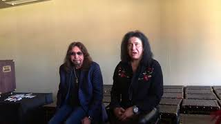 Gene Simmons & Ace Frehley full Q&A Adelaide Vault 2018