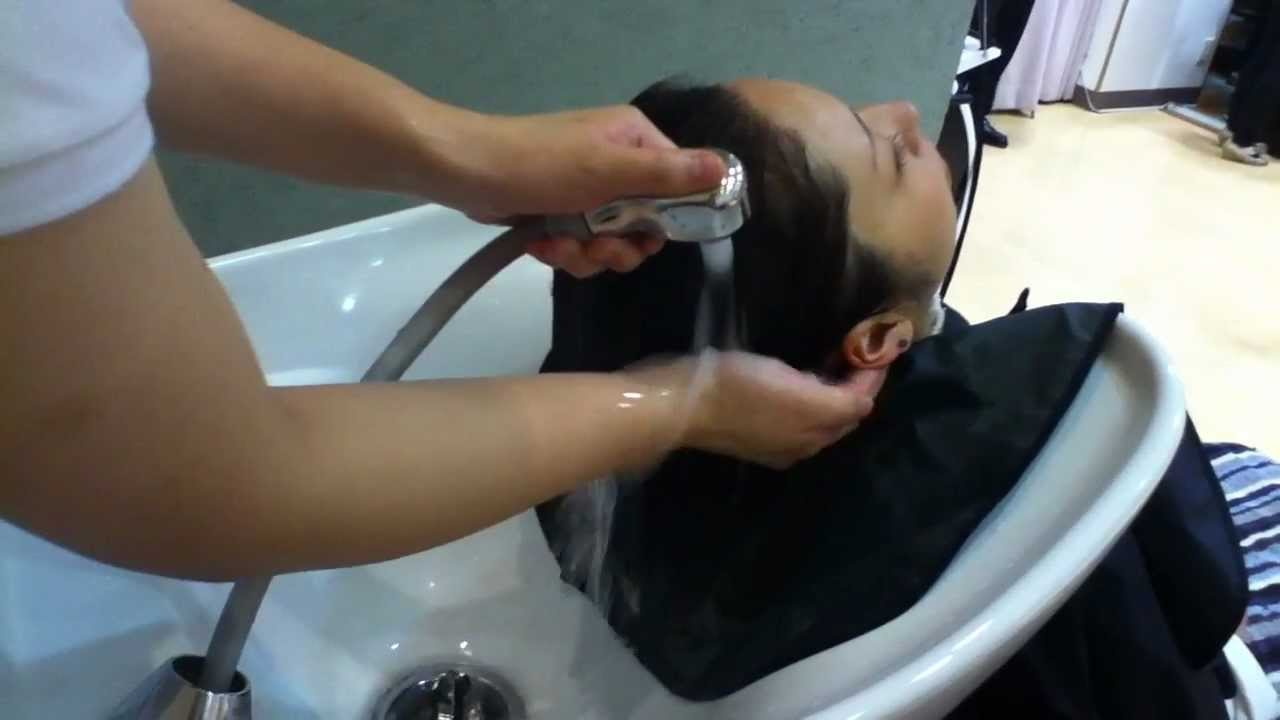How to shampoo in Japanese style
