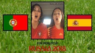 PORTUGAL 🇵🇹 vs ESPAGNE 🇪🇸 ⚽️🌏🏆