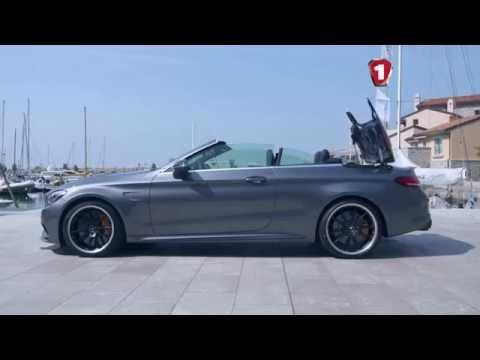 Тест драйв Mercedes Benz C Class Cabrio Первый тест