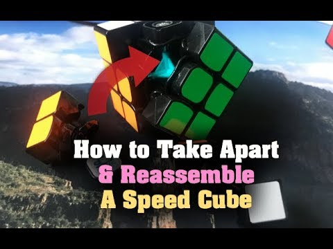How to Assemble (And Disassemble) a 3x3 Rubik's Cube (Speed Cube)