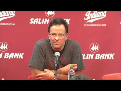 Indiana Basketball Head Coach Tom Crean 1/9/16