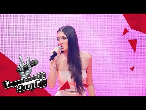 Diana Petrosyan sings 'Shape of You' - Blind Auditions - The Voice of Armenia - Season 4