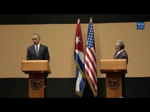 Full Event President Obama's and President Castro's Full Press Conference.