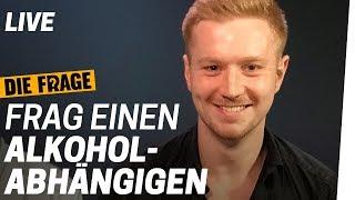 LIVE Q&A: Frag einen Alkoholabhängigen | Saufen wir zu viel? Folge 5