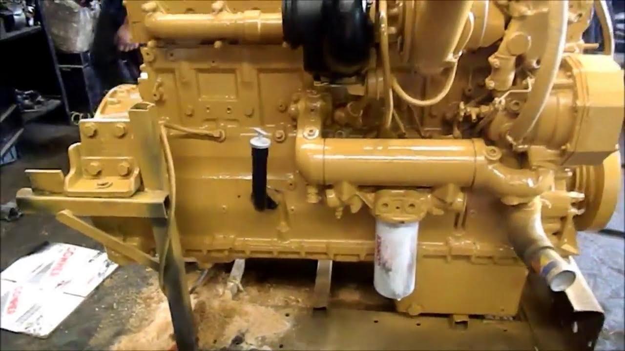 Motor Caterpillar 3406 E 455 Hp  Tractopartes Los Gemelos 03:17 HD