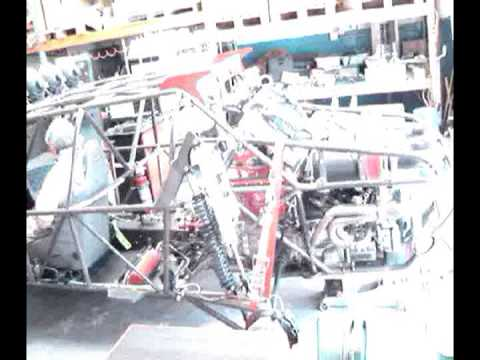 Nissan VK56 engine in kurt's buggy 1st dyno 400WHP+