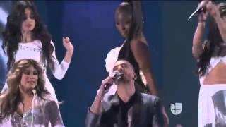Maluma Sin Contrato En Vivo En Los Premios Latin Grammys 2015 Ft Fifth Harmony