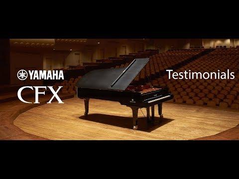 The Yamaha CFX 9 ft. Concert Grand Piano
