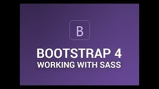 Bootstrap 4 beta with sass installation (No need of Grunt Or Gulp Task Manager)