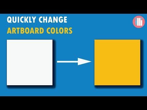 2 Quick Ways to Change Artboard Colors - Adobe Illustrator Tutorial thumbnail