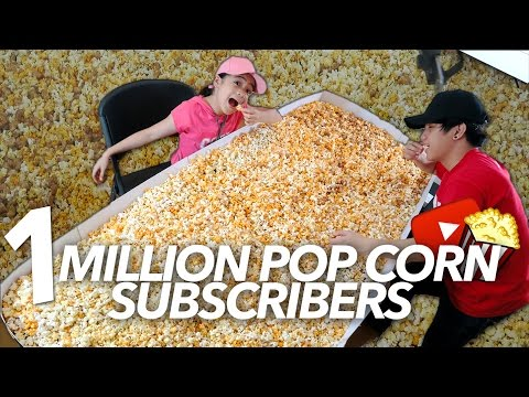 ONE MILLION POP CORN SUBSCRIBERS PARTY | Ranz and Niana