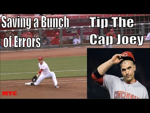 Joey Votto Making Smooth Scoops