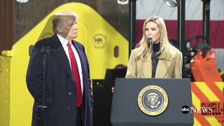 Pres Donald Trump delivers remarks at HK Equipment Company in Coraopolis Pennsylvania  ABC News