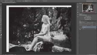 Как расширить пространство фотографии в фотошоп (Photoshop)