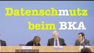 30. August 2017 - Komplette Bundespressekonferenz