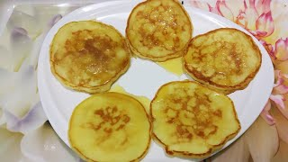 Pancakes Recipe | Fluffy Pan Cakes | How To Make Easy Pancakes | Quick Easy And Tasty Breakfast