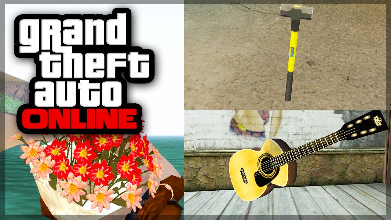 how to get rid of weapons in gta 5 online