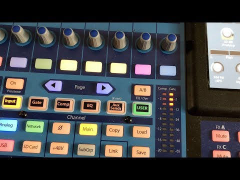 Using a Gate for Voiceover | Presonus StudioLive 24 Series III