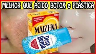Use Isto por 2 NOITES - Adeus RUGAS MANCHAS FLÁCIDEZ MELASMA #pele