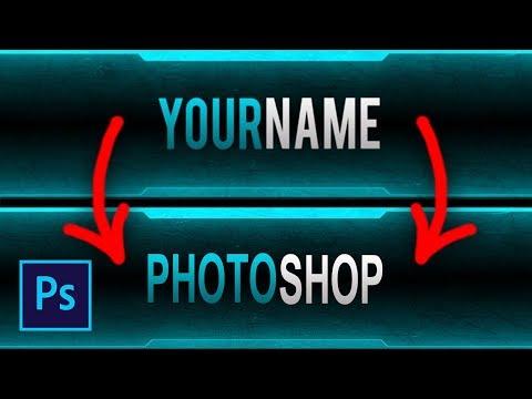 Как изменить текст в готовой шапке в фотошопе