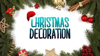 Christmas Decoration Ideas | Indoor & Outdoor Diy | Christmas Tree