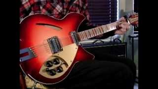 """The Byrds: """"Bells of Rhymney"""" Rickenbacker 360/12 C63 & Vox AC30"""