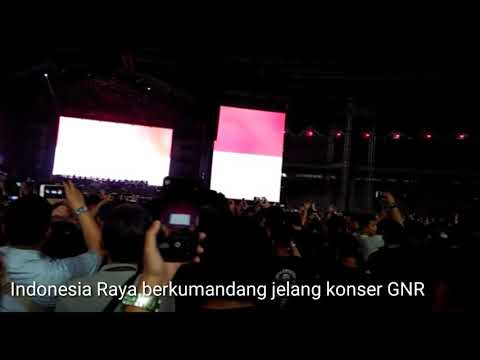 Lagu Indonesia Raya di Konser Guns N' Mp3