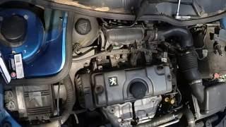 Замена свечей зажигания Пежо 206 (1.4L) / Spark plugs change Peugeot 206 (1.4L)