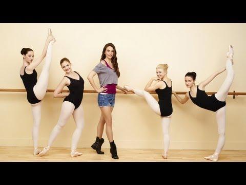 BUNHEADS Stars Teach Us Ballet Moves!