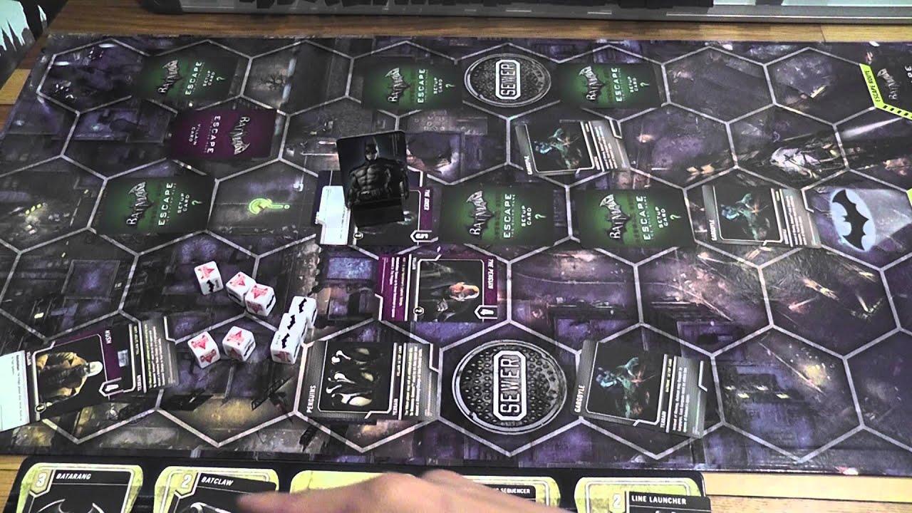 batman arkham city board game