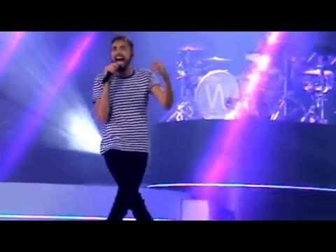 Concert de Christophe Willem le 14 juillet 2016 à Marcq en Baroeul 1/2