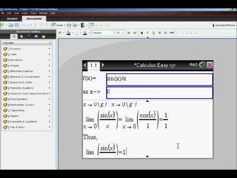 Step by Step homework using Calculus Made Easy program for