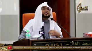memperbetulkan bacaan quran sheikh abdul karim omar al makki