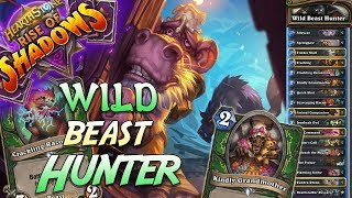 Wild Beast Hunter Deck   Rise of Shadows   Hearthstone