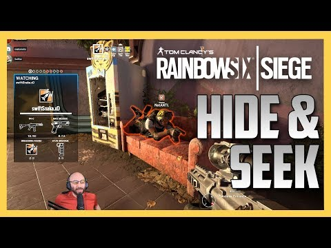 R6 Siege Hide and Seek on the NEW Theme Park!