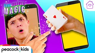 Teleport Anything Through Your Phone | Kids Magic at Home | JUNK DRAWER MAGIC #stayhome #withme