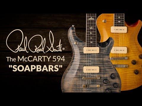 The PRS McCarty 594 Soapbars with Bryan Ewald | PRS Guitars