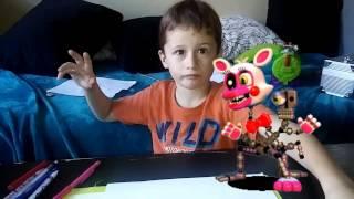 - Как нарисовать лисичку Кошмарная Мангл из Пять ночей с Фредди FNAF tutorial for kids