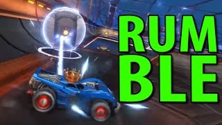 RUMBLE I ROCKET LEAGUE!