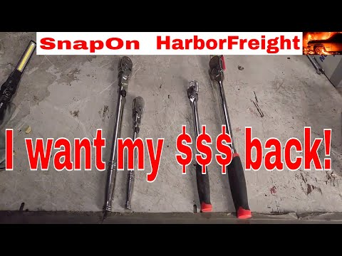 Harbor Freight Pittsburgh Professional Flex Head Ratchet No Good