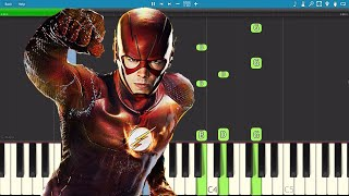 How to play Runnin' Home To You - Piano Tutorial - The Flash - Grant Gustin