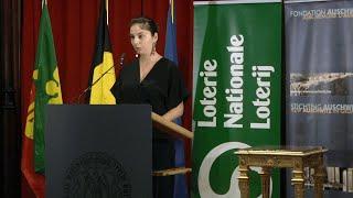 N. Gibrat - lauréate de la « Mention spéciale du jury », Prix Fondation Auschwitz - 10-2019