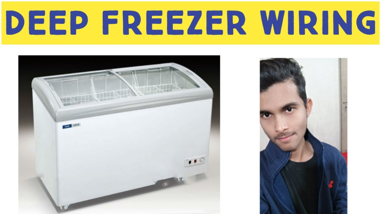 [QMVU_8575]  Deep freezer wiring diagram easy & simple🔥 - YouTube | Wiring Diagram Freezerless Refrigerator |  | YouTube