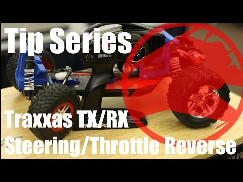 MESArc - How to Reverse Throttle and Steering using Traxxas RX
