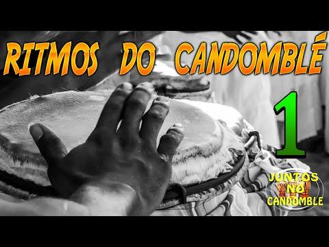 Toques atabaques Ritmos de Candomblé - PARTE 1