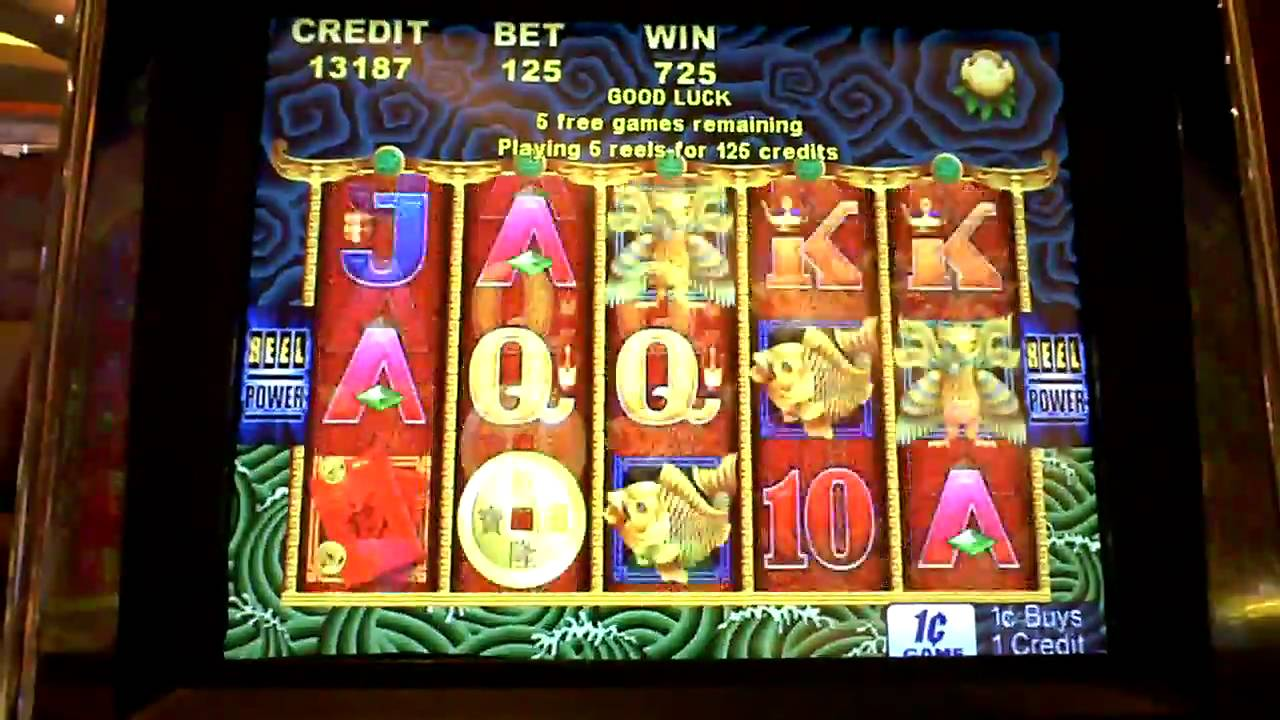 5 Dragons Bonus Win On Penny Slot Machine At Parx Casino