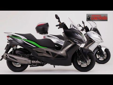 Kawasaki J300 ปะทะ FORZA 300 Yamaha Big Scooter 300