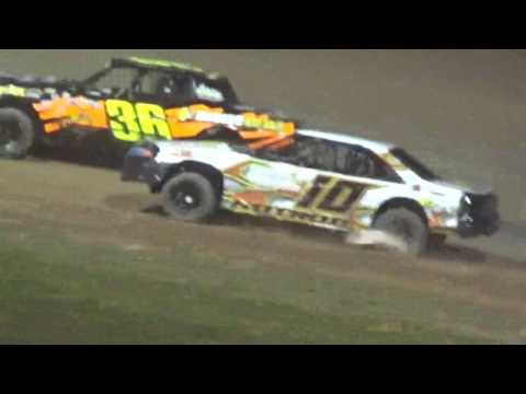 IMCA Stockcar Feature Luxemburg Speedway Luxemburg Wisconsin 7/11/17